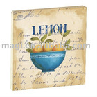 Lemon Square Fruit Permanent Magnets