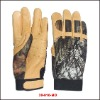Leather Camouflage Outdoor Hunting Glove