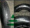 metal wheel barrow tyre
