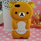 Cute Design 3D Cartoon Rilakkuma Bear Hard Cover Case for iPhone 5