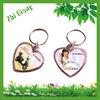 Heart Plastic Keychain