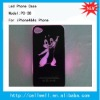 PC-38 NEW Sense Flash light Case Cover for Apple iPhone 4 4S 4G LED LCD Color Changed