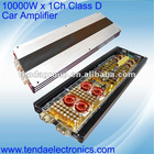 10000W Class D car amplifier -High Power Car amplifier