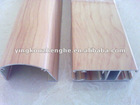 Decorative Wood Texture Aluminium Extrusion Profiles