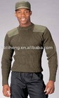 olive green pullover