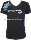 100% combed cotton v neck t shirts
