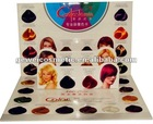G7W pure permanent hair color charts red