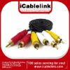 HIGH QUALITY : QUALITY 3 RCA TO 3 RCA AUDIO/VIDEO EXTENSION CABLE 1.5m 3m 5m