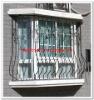 2012 Top-selling modern steel security window fence