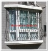 2012 Top-selling modern steel security window fence