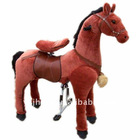 Rufous Plush Horse,Stuffed Horse