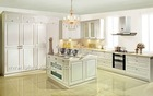 Newest solid wood european kitchen cabinet design