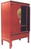 chinese antique furniture---antique red TV cabinet