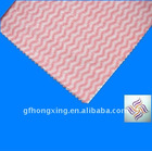 factory direct colorful super fine easy cleaning apertured wave pattern spunlace nonwoven viscose/polyester fabric