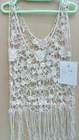 Ladies summer lace vest, widely used for fashion wear