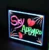 abs led fluorescence advertising board