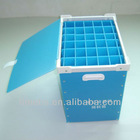 Collapsible pp storage box