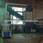 New Arrival sawdust pellet machine with Belt Conveyor/Power Distribution Cabinet/ Dust Remover for free