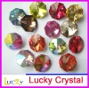point back crystal, point back octagon beads