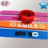 papa silicone slap wristband for promotional gift