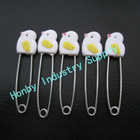 Large 60mm Animal Head Baby Diaper Pin