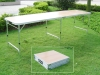 8 feet light alloy folding table