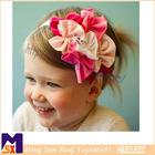 cute bowtie girls hairband beautiful flower elastic baby hairbands