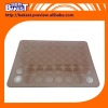 Wholesales Macaron thick pastry Professional silpat Silicone Pad Mat potholder with measure she et 9275