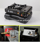 camping gas stove with dual connection to LPG&BUTANE GAS