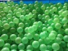 Plastic bouncing table tennis,ping-pong ball