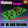 (Lilytoys!) Interesting exciting Inflatable Bunker Panitball field BK-03JO