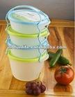 4PK Food box with handle