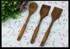 acacia wood spoon spatula sets