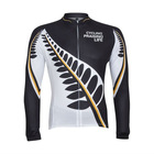 MONTON Leaf Black White 2012 Cycling wear long sleeve jersey set accept custom