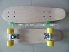 Wood fish skateboard,same shape with penny skate