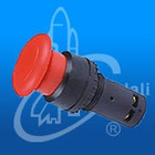 cheap industrial waterproof plastic emergency push button switch