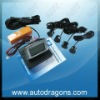 LCD auto parking sensor system