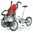 stoller baby double seat-2in1-bike&baby stroller-mother&baby bike