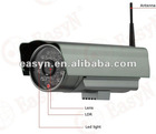 outdoor wireless wifi ip camera,H.264, two way audio,1/3 SONY CCD,420TV