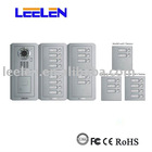 Direct-call door phone system with built-in LED,Sony CCD camera and changable name tags