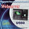 Fingerprint Time Attendance Terminal support Webserver