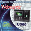 Fingerprint Time Attendance Terminal support Webserver