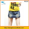 women jeans skirt, younger, can use as pants