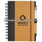 eco-friendly recycle paper notebook-HYHB015