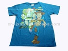 fashion printed cotton kids T-shirt