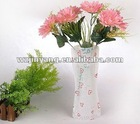 PVC foldable flower vase/Plastic Folding vase