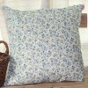 Fashion Traditional Light Blue Small Flower Printed Cushion/Pillow
