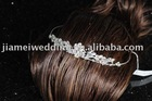 fashion with good quality,2011 new wedding crown,flower bridal wedding crown