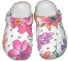 EVA clog with Nice Flower Printing