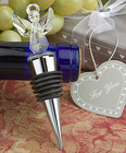 Angel Shape Crystal Wine Stopper For Wedding Gift